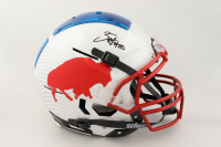 Zack Moss Signed Full-Size Authentic On-Field Hydro-Dipped F7 Helmet (Beckett COA) at PristineAuction.com