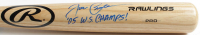 "Joe Crede Signed Rawlings Pro Baseball Bat Inscribed ""'05 W.S. Champs!"" (JSA COA) at PristineAuction.com"