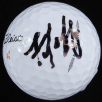 Mike Cowan Signed Masters Logo Golf Ball (Beckett COA) at PristineAuction.com
