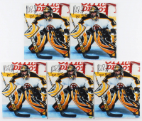 "Lot of (5) Andrew Raycroft Signed Bruins 8x10 Photos Inscribed ""ROY 03-04"" (Hollywood Collectibles Hologram) at PristineAuction.com"