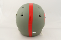 Tyreek Hill Signed Full-Size Authentic On-Field Matte Green Helmet (JSA COA) (See Description) at PristineAuction.com