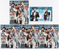"Lot of (5) Joey Fatone & Chris Kirkpatrick Signed ""NSYNC"" 8x10 Photos (PSA COA) at PristineAuction.com"