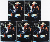 "Lot of (5) Artimus Pyle Signed 8x10 Photos Inscribed ""RRHOF 2006"" (Hollywood Collectibles Hologram) at PristineAuction.com"