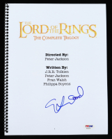 "Elijah Wood Signed ""The Lord of the Rings: The Complete Trilogy"" Movie Script (PSA Hologram) at PristineAuction.com"
