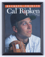 Cal Ripken Jr. Signed 9x11.5 Custom Framed 1995 Original Magazine Display (Beckett LOA) (See Description) at PristineAuction.com