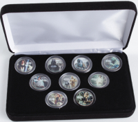 1977 Star Wars LE Coin Set of (9) Coins at PristineAuction.com