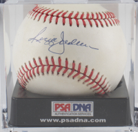 Reggie Jackson Signed OAL Baseball with Display Case (PSA COA) (See Description) at PristineAuction.com