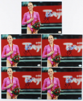 Lot of (5) Nastia Liukin Signed 8x10 Photos (Hollywood Collectibles Hologram) at PristineAuction.com