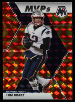 Tom Brady 2020 Panini Mosaic Mosaic Reactive Gold #298 MVP at PristineAuction.com