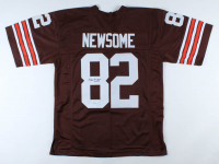 """Ozzie Newsome Signed Jersey Inscribed """"HOF 99"""" (PSA COA) at PristineAuction.com"""
