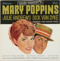 "Original Vintage 1964 Walt Disney's ""Mary Poppins"" Vinyl Record LP at PristineAuction.com"