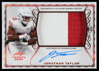Jonathan Taylor 2020 Leaf Trinity Patch Autographs #PAJT1 at PristineAuction.com