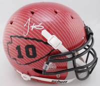 Tyreek Hill Signed Full-Size Authentic On-Field Hydro-Dipped Helmet (JSA COA)(See Description) at PristineAuction.com