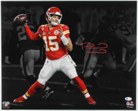 Patrick Mahomes Signed Chiefs 16x20 Photo (Beckett COA) (See Description) at PristineAuction.com