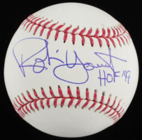 "Robin Yount Signed OML Baseball Inscribed ""HOF 99"" (JSA COA) at PristineAuction.com"