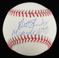 "Art Shamsky Signed OML Baseball Inscribed ""Miracle Mets"" (JSA COA) at PristineAuction.com"