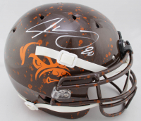 Jarvis Landry Signed Full-Size Authentic On-Field Hydro-Dipped Helmet (JSA COA) at PristineAuction.com