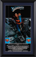 """Superman"" 15x23 Custom Framed Movie Poster Display at PristineAuction.com"