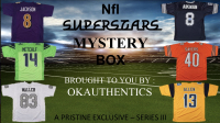 OKAUTHENTICS NFL Superstar Jersey Mystery Box Series III at PristineAuction.com