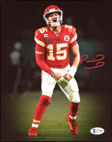 Patrick Mahomes Signed Chiefs 8x10 Photo (Beckett COA) at PristineAuction.com