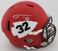 Tyrann Mathieu Signed Chiefs Full-Size Authentic On-Field Matte Red Speed Helmet (JSA COA) (See Description) at PristineAuction.com