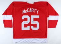 "Darren McCarty Signed Jersey Inscribed ""Sweet Revenge"" & ""3/26/97"" (JSA COA) at PristineAuction.com"