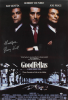 "Henry Hill Signed ""Goodfellas"" 27x39 Movie Poster Inscribed ""Goodfella"" (PSA COA) at PristineAuction.com"