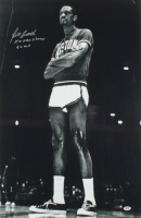 "Bill Russell Signed Celtics 20x30 Photo Inscribed ""11x NBA Champs"" & ""5x MVP"" (PSA COA) at PristineAuction.com"