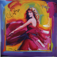 Taylor Swift Signed 21.5x21.5 Print (Beckett LOA) at PristineAuction.com
