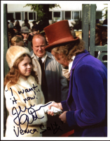 """Julie Dawn Cole Signed """"Willy Wonka & the Chocolate Factory"""" 8x10 Photo Inscribed """"I Want It, Now!"""" & """"Veruca Salt"""" (Beckett COA) at PristineAuction.com"""