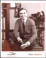 "Fred Rogers Signed 8x10 Photo Inscribed ""With Kindest Regards"" (PSA COA) at PristineAuction.com"