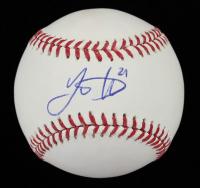 Lucas Duda Signed OML Baseball (Steiner COA & Fanatics Hologram) at PristineAuction.com