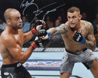 "Dustin Poirier Signed UFC 16x20 Photo Inscribed ""The Diamond"" (PSA Hologram) at PristineAuction.com"