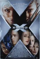 "Hugh Jackman Signed ""X-Men 2"" 27.25x40 Original Double Sided Movie Poster (Beckett COA) (See Description) at PristineAuction.com"