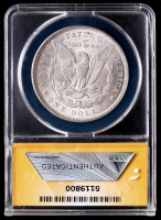 Mint Error - 1896 Morgan Silver Dollar - Struck Through String (ANACS MS62) at PristineAuction.com