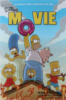 "Matt Groening Signed ""The Simpsons Movie"" 24x36 Movie Poster Inscribed ""Cartoonist & Dog Lover"" & ""July 24, 2007"" (Beckett LOA) (See Description) at PristineAuction.com"