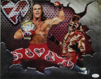 Shawn Michaels Signed WWE 11x14 Photo (JSA COA) at PristineAuction.com