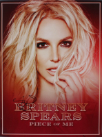"Britney Spears Signed ""Piece Of Me"" 18x24 Poster (Beckett LOA) (See Description) at PristineAuction.com"