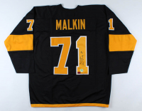 Evgeni Malkin Signed Jersey (YSMS COA & Malkin Hologram) (See Description) at PristineAuction.com
