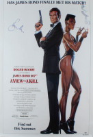 "Roger Moore Signed ""James Bond 007: A View To Kill"" 27x40 Movie Poster (Beckett COA) at PristineAuction.com"