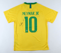 Neymar Signed Team Brazil Jersey (Beckett LOA) at PristineAuction.com