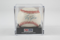 Doug Johns Signed OAL Baseball with Display Case (PSA COA) (See Description) at PristineAuction.com