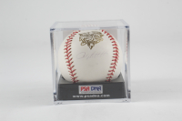 Andy Pettitte Signed 2000 World Series Baseball with Display Case (PSA COA, Steiner Hologram & MLB Hologram) (See Description) at PristineAuction.com