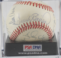 1988 Orioles OAL Baseball Team-Signed by (20) with Frank Robinson, Cal Ripken Jr., Eddie Murray, Curt Schilling with Display Case (PSA LOA) (See Description) at PristineAuction.com