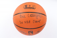 "Bill Cartwright Signed Silver Series Basketball Inscribed ""3x NBA Champ"" (JSA COA) at PristineAuction.com"