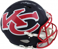 """Mecole Hardman Signed Chiefs Full-Size Authentic On-Field AMP Alternate Speed Helmet Inscribed """"Jet"""" (Radtke COA) at PristineAuction.com"""