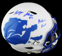 """Kerryon Johnson Signed Lions Full-Size Authentic On-Field AMP Alternate Speed Helmet Inscribed """"Mowtown's Finest"""" (Radtke COA & Johnson Hologram) at PristineAuction.com"""