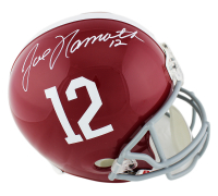 Joe Namath Signed Alabama Crimson Tide Full-Size Helmet (Beckett COA) at PristineAuction.com