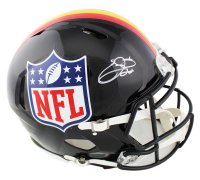 Emmitt Smith Signed Full-Size Authentic On-Field NFL Logo Helmet (Prova Hologram) at PristineAuction.com