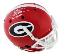 "Terrell Davis Signed Georgia Bulldogs Full-Size Authentic On-Field Helmet Inscribed ""Go Dawgs"" (Radtke COA) at PristineAuction.com"